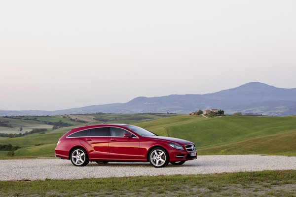 Mercedes CLS350 CDI Shooting Brake