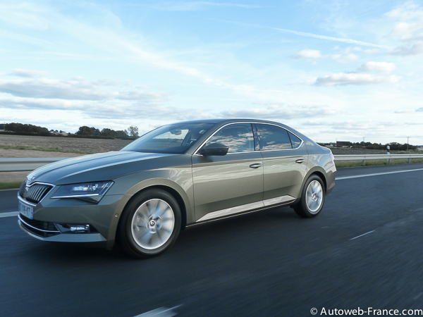 Skoda Superb TDI 150