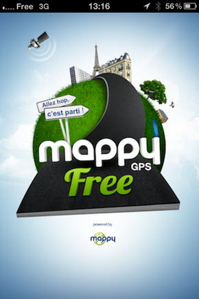 GPS Free v2 by Mappy