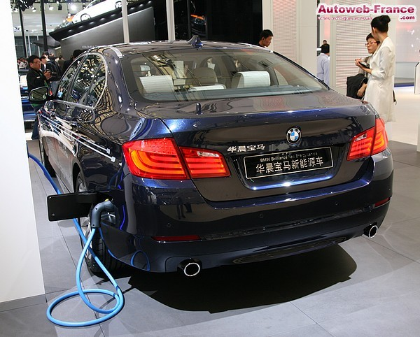 BMW ActiveHybrid5 Plug-in